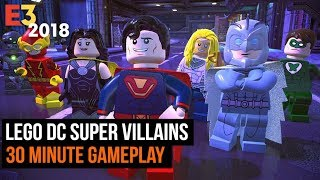 30 Minutes of Lego DC Super Villains Gameplay