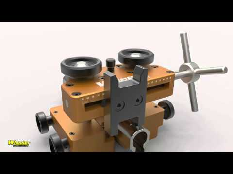 Wheeler Engineering Armorer/'s Handgun Sight Tool with Heavy-Duty Construction
