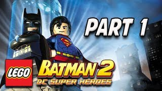 LEGO Batman 2 DC Super Heroes Walkthrough - Part 1 Theatrical Pursuits Let's Play XBOX PS3 PC(Lego Batman 3 Beyond Gotham Gameplay Walkthrough Part 1 - Pursuers in the Sewers (Let's Play Commentary) ..., 2012-06-19T07:00:10.000Z)