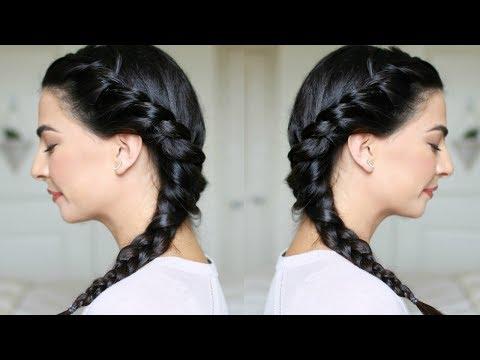 Side Braid Hair Tutorial For Beginners