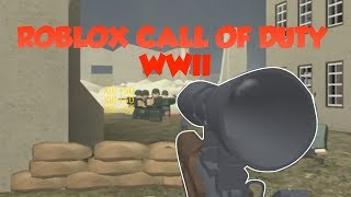 CALL OF DUTY IN ROBLOX... | Roblox WWII