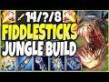 Reworked Fiddlesticks = BEST JUNGLER 🔥 New Fiddlesticks Season 10 Jungle Build - LoL Fiddle Gameplay