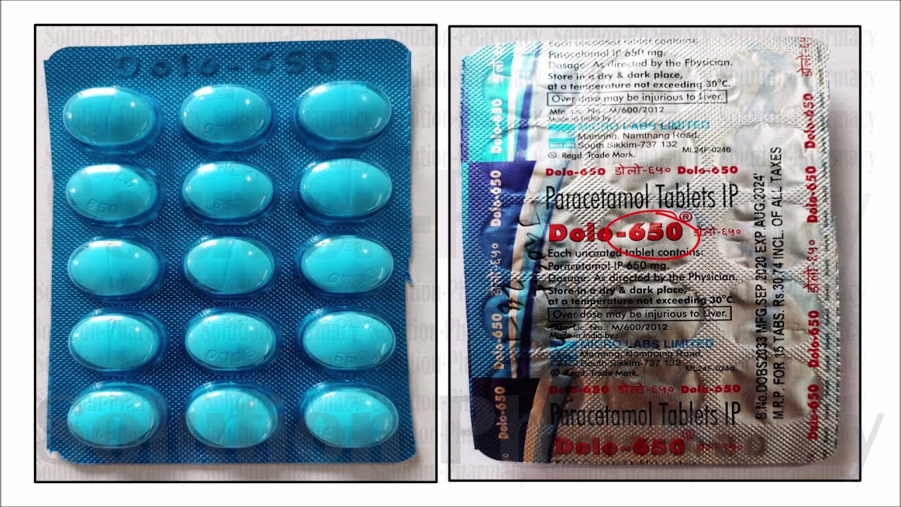 paracetamol is use for