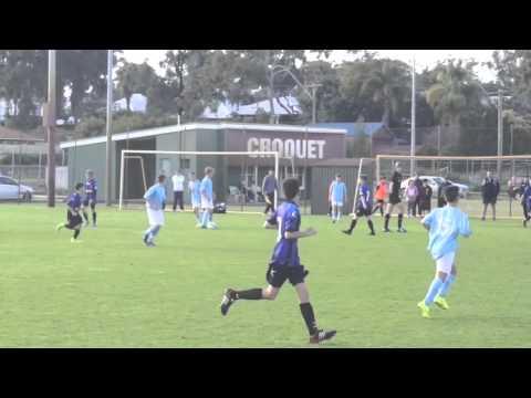 WA State Cup U13 semi final Perth SC vs Bayswater 25 July 2015