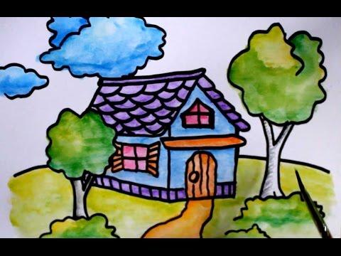700+ Gambar Rumah Kartun Bagus Terbaik