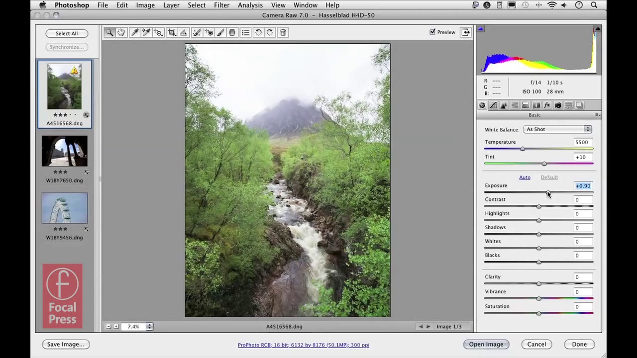 Tutorial: Working with Camera Raw in Photoshop CS6