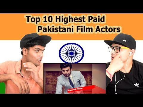 Indian reaction on Top 10 Highest Paid Pakistani Film Actors | Swaggy d