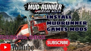 HOW TO INSTALL SPINTIRES MUDRUNNER AMERICAN WILDS GAMES MODS