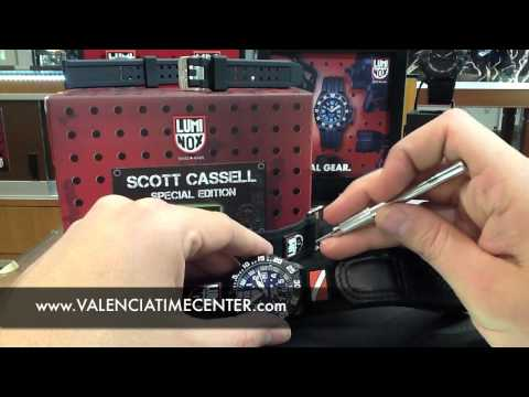 Luminox Scott Cassell Special Edition 3954 Review By Valencia Time Center