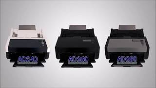 Scanner Avision AD240, AD260, AD250 e AD280