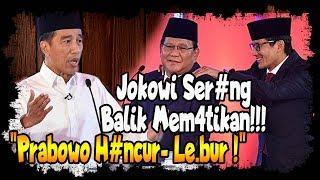 Debat : Prabowo Tu duh, Jokowi Ser4ng Balik Mem4tik4n, Prabowo H4ncur  Le bur MP3