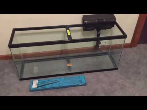 Glass Canopy For 55 Gallon Tetra Aquarium