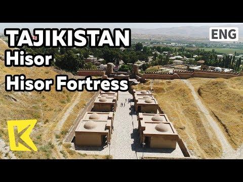 【K】Tajikistan Travel-Hisor[타지키스탄 여행-히소르]히소르 성/Hisor Fortress/Silk Road/City wall/Sogdia/Market