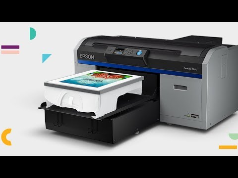 Epson DTG Printing with the F2100 | Webinar