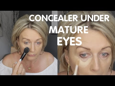 Under Eye Concealer Without Creasing ? Mature Skin
