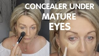 Under Eye Concealer Without Creasing ? Mature Skin