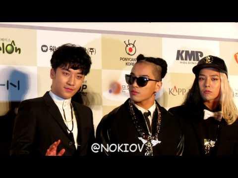 Gaon Chart K-Pop Awards red carpet 빅뱅