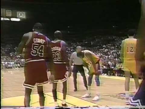"Bulls vs Lakers - 1991 Finals Game #5 - Second Half  - Jim Durham & Johnny ""Red"" Kerr"