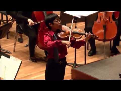 Rennosuke Fukuda -- Menuhin Competition 2014 -- Junior Finals, Part 2