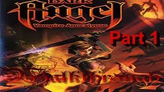 Dark Angel Vampire Apocalypse Walkthrough Part 1 PS2