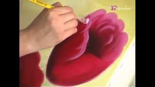 Pinturas Florais - Pintura a óleo - Tulipa