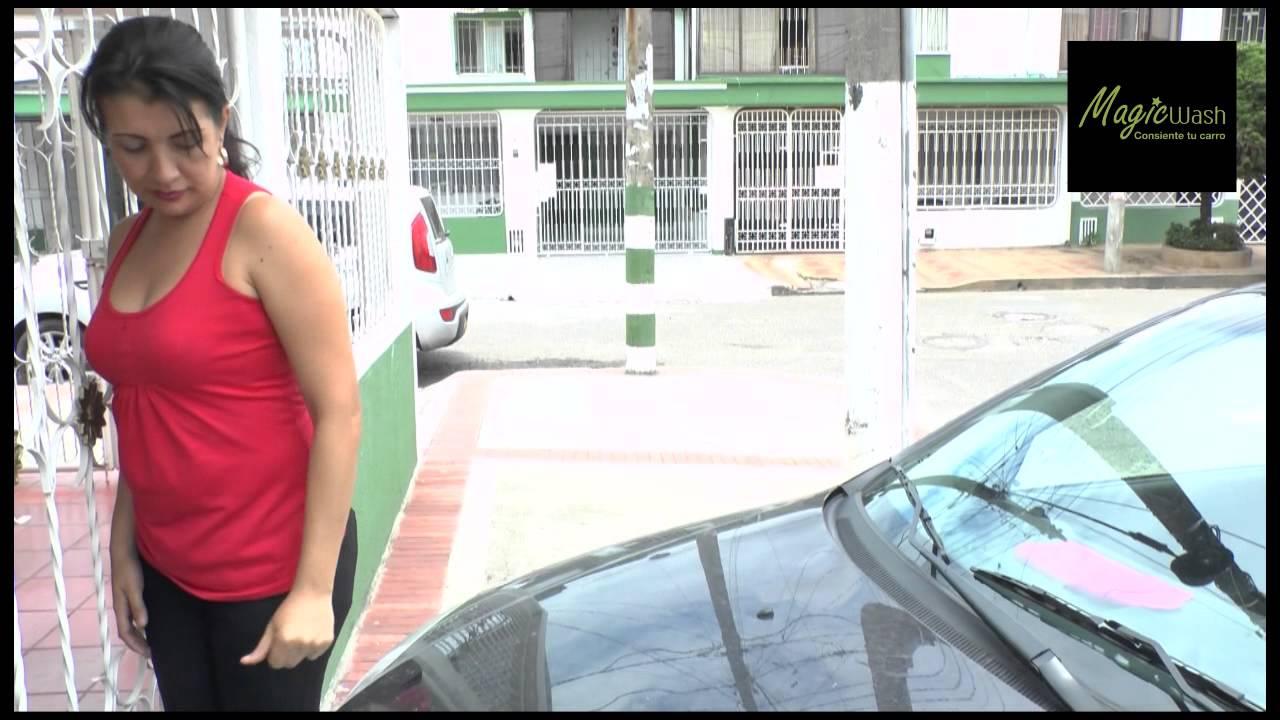 Video magicwash lavado de autos a domicilio - YouTube