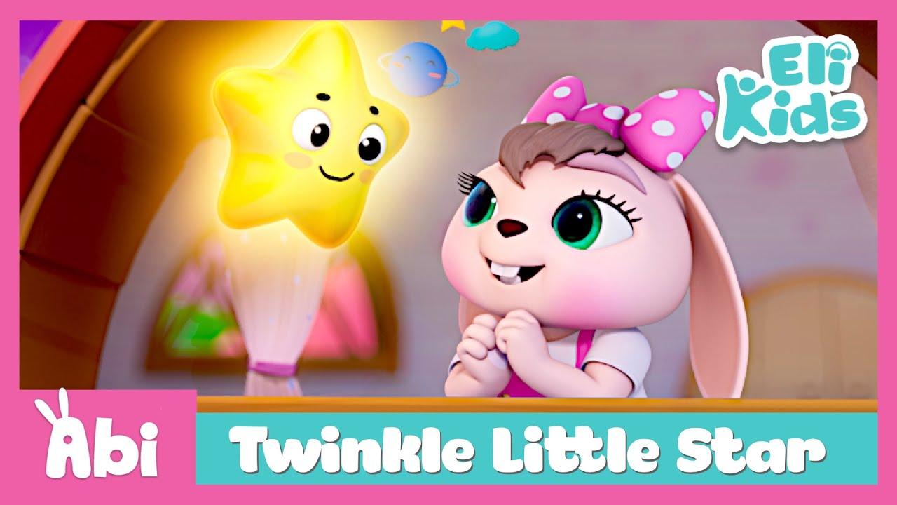 Twinkle Twinkle Little Star #3 | Eli Kids Educational Songs & Nursery Rhymes