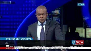 Gauteng PPE tender puts ANC in spotlight