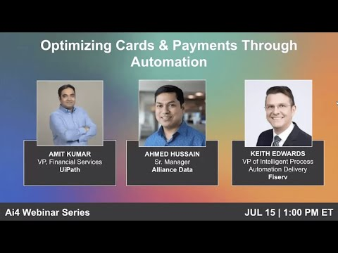 Optimizing Cards & Payments Through Automation