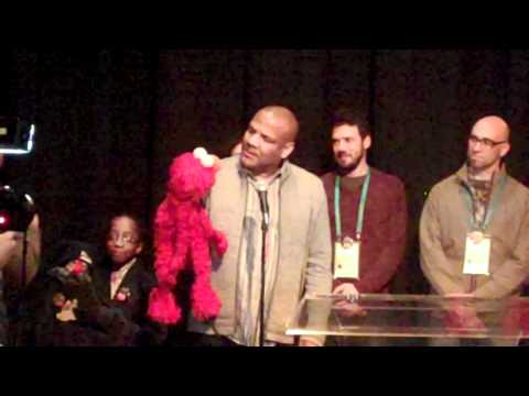 Kevin Clash and Elmo at Sundance Film Festival