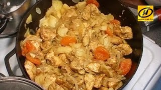 Аппетитное куриное карри, легкое блюдо для Вашей диеты