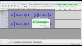 """Добавить эффект """"Эхо"""" в аудиозапись при помощи Audacity"""