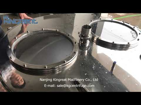 hemp oil extraction centrifuge