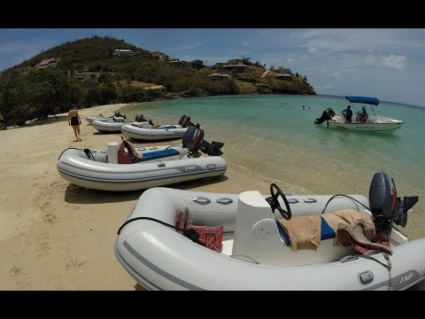 Sandals LaSource Grenada Pilot Your Own Powerboat and Snorkel Tour