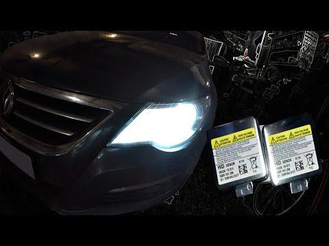 Замена КСЕНОНОВОЙ Лампы на Volkswagen Passat CC Без снятия бампера!