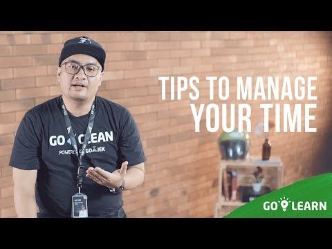 ▸▸ Tips To Manage Your Time // Rachmat Ramdan💡 GO-LEARN