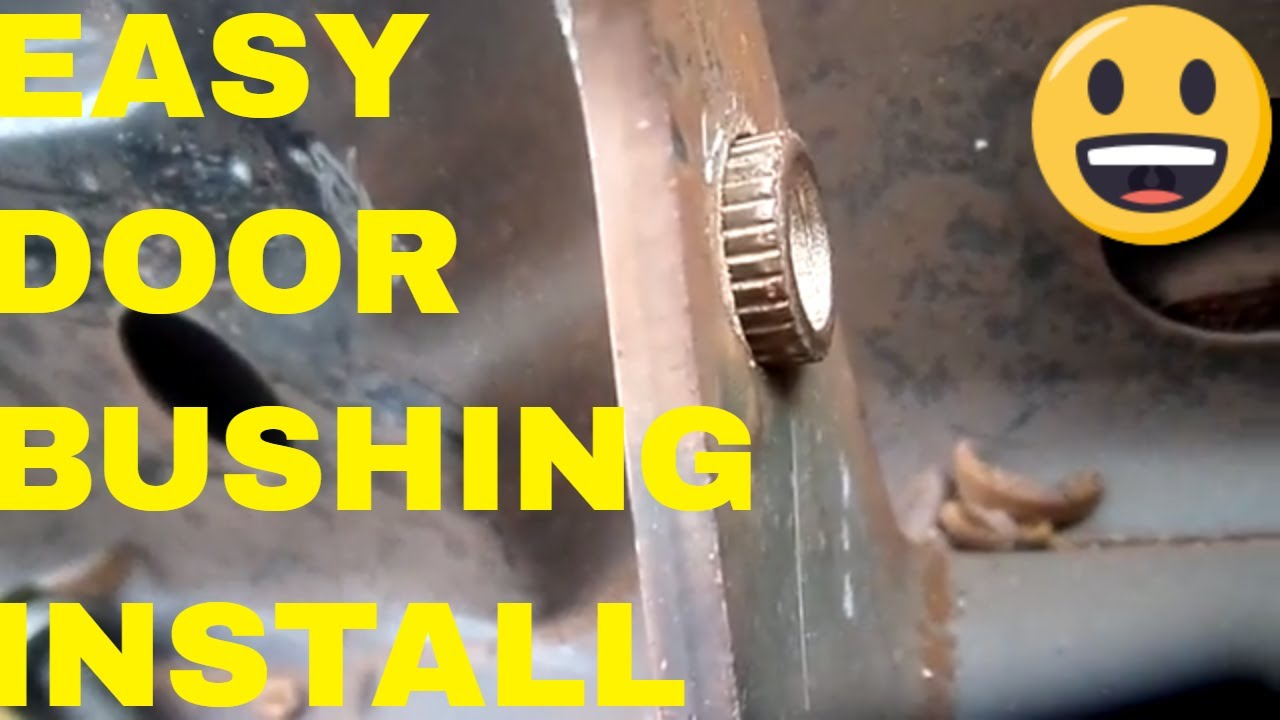 Door bushing install easy on Dodge Chrysler  Gm or Ford during door hinge replacement/door pins & Door bushing install easy on Dodge Chrysler  Gm or Ford during ...