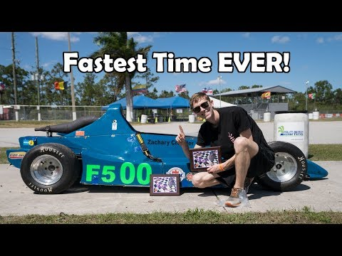 BREAKING THE TRACK RECORD! (Palm Beach International Raceway)