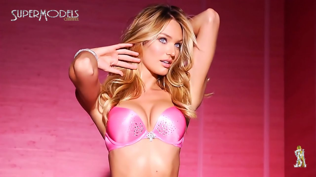 Baby Girl Wallpaper Pink Candice Swanepoel Victoria S Secret Lingerie Photoshoots
