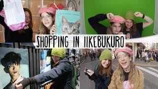 Shopping in Ikebukuro, Japanese arcade, and Japanese sweet HAUL! ✨Tokyo vlog