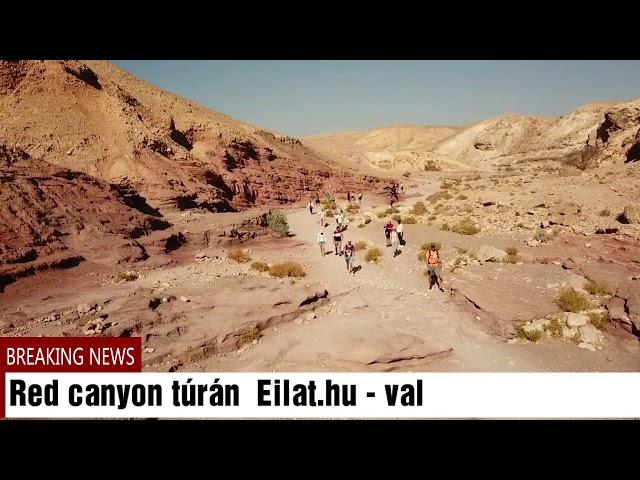 Red canyon , vörös kanyon , Eilat,