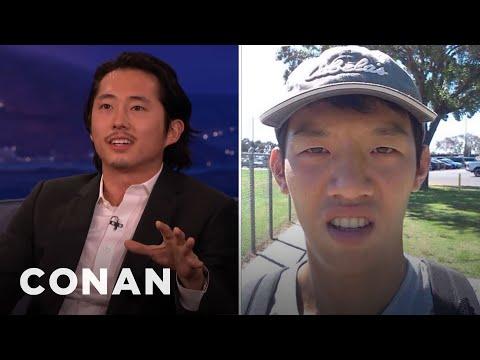Steven Yeun: Not All Asians Look Alike!  - CONAN on TBS