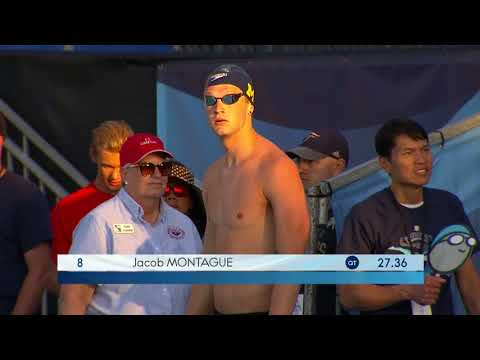 Men's 50m Breast A Final | 2018 Phillips 66 National Championships