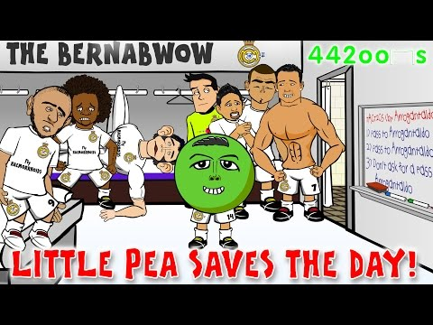 🏆REAL MADRID vs ATLETICO MADRID 1-0🏆 Champions League Cartoon 2015 (Javier Hernandez goal!) Parody