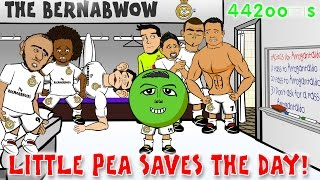 🏆REAL MADRID vs ATLETICO MADRID 1-0🏆 Champions League Cartoon 2015 (Javier Hernandez goal!) Parody