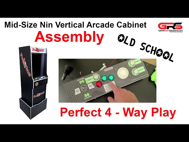 Mid Size Nin Vertical Arcade Assembly Video - Punch Out!