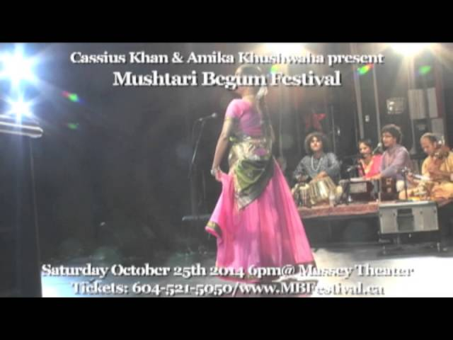 3rd Annual 2014 Mushtari Begum Festival Advertisement 2