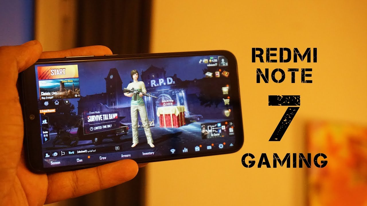 Pubg Hd Graphics Redmi Note 5 Pro: Redmi Note 7 Gaming Review, PUBG Gaming Performance