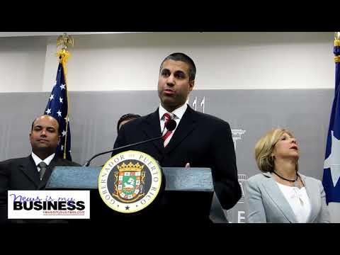 FCC Chairman Ajit Pai visits Puerto Rico