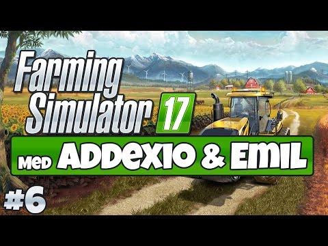 SVEIN ER PÅ BESØK - Farming Simulator 17 #6
